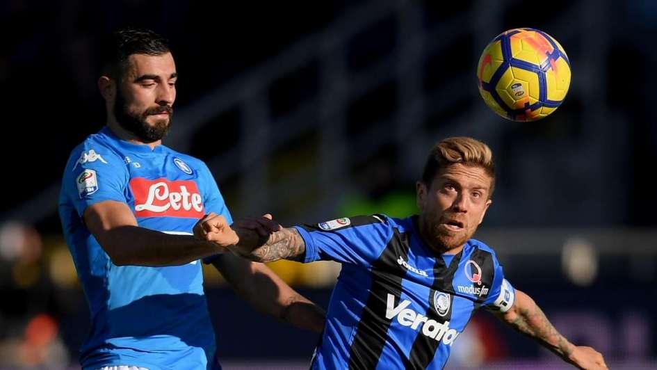 El Napoli derrotó al Atalanta con 'Papu' Gómez de titular