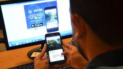 La semana pasada fue presentada la App Yecas.
