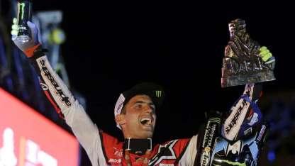 Entre todos los competidores argentinos, Benavídez fue el que más alto y más lejos llegó con su moto.