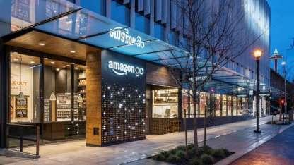 Amazon Go abrió sus puertas en Seattle, Estados Unidos.