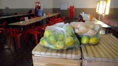 El menú que recibe cada escuela es elaborado por nutricionistas y rige desde 2016