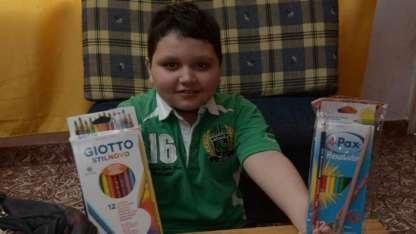 Francesco Benegas invirtió dos años seguidos sus ahorros en útiles escolares para ayudar a chicos que los necesiten.