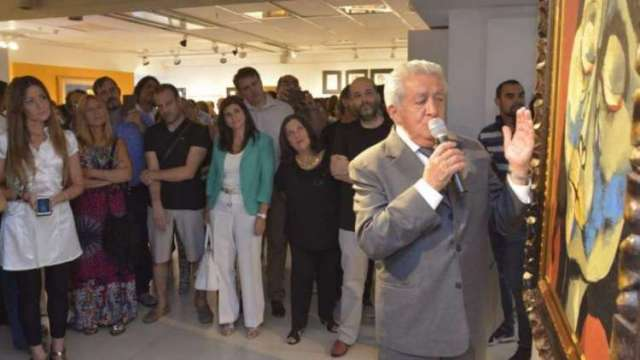 110 trabajos del artista componen la muestra.