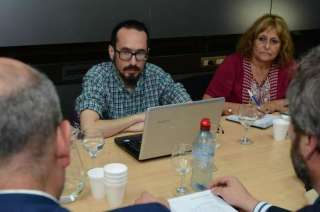 Sebastián Henríquez, del SUTE, encabeza las negociaciones gremiales