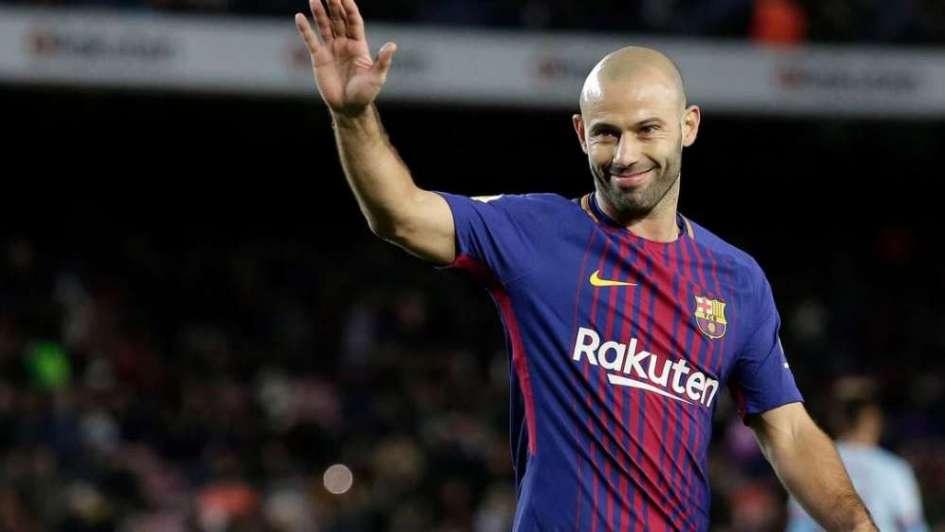 Es oficial  Javier Mascherano dejará el Barcelona 420b5ad7f5028