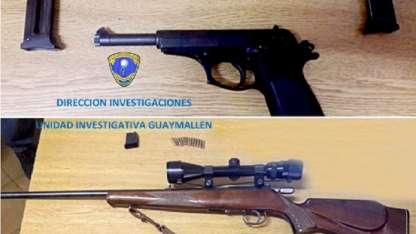 Las armas secuestradas,