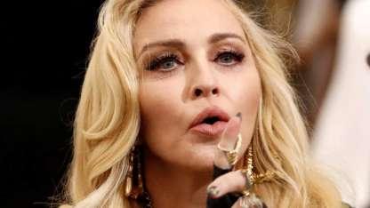 Madonna sorprendió con un topless en su cuenta de Instagram