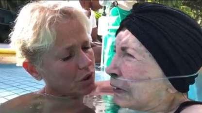 El emotivo video de Xuxa cantándole a su mamá Aldinha