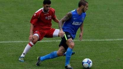 Alberione tiene 21 años y juega de marcador central.