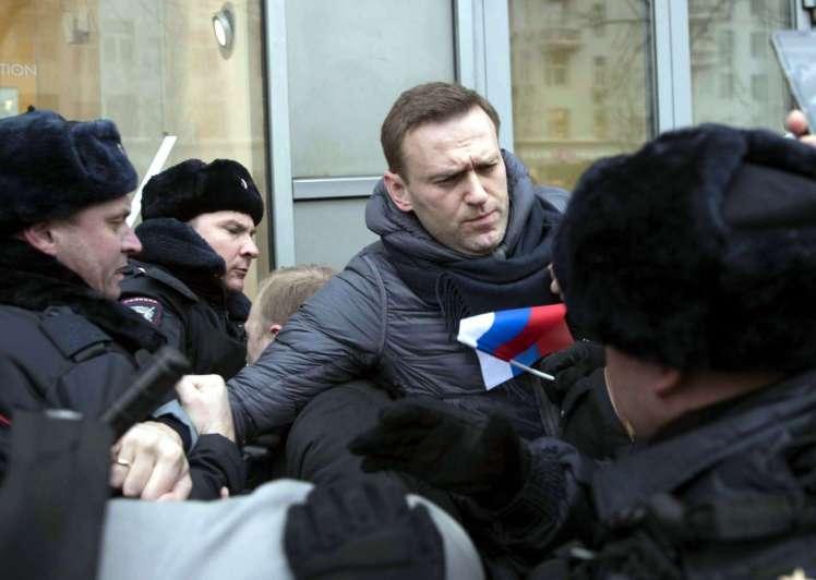 Detienen a Alexei Navalny, principal opositor de Vladimir Putin — Rusia