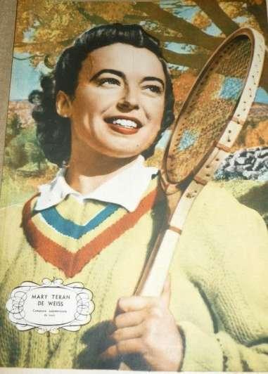 De Terán de Weiss a La Mary: cien años de tenis como derecho social - Por Yamila Weber