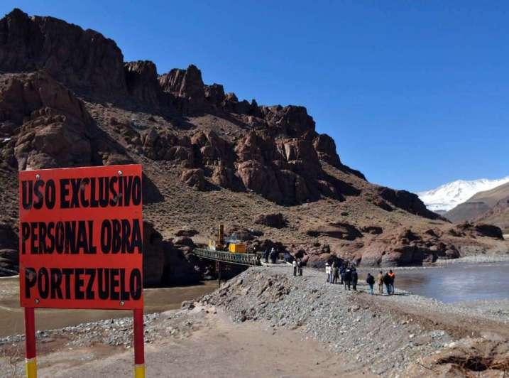 Portezuelo del Viento: hay cinco posibles lugares para relocalizar a Las Loicas