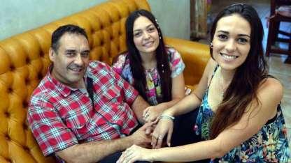 Su papá y hermana fueron sus principales apoyos para candidatearse, además de su novio.