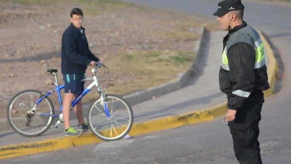 En qué casos pueden retener la bicicleta en las calles de Mendoza