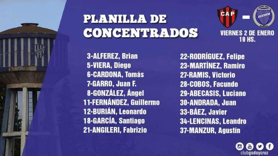 Patronato y Godoy Cruz igualaron sin goles en Paraná