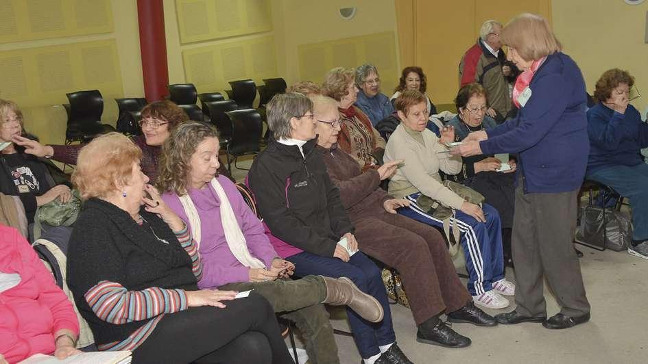 OSEP reanuda las actividades para adultos mayores