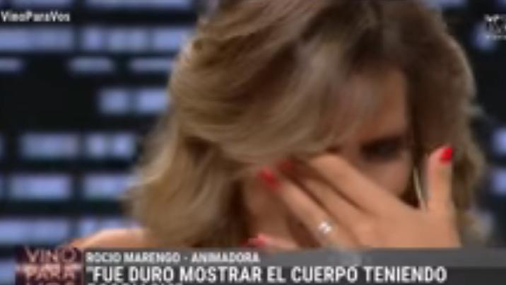 El desgarrador llanto de Rocío Marengo al recordar su enfermedad