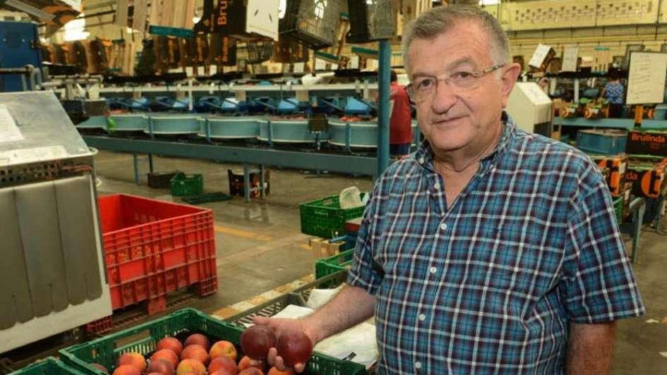 """Daniel Brunetti: """"Hay una gran crisis y la actividad frutícola está desapareciendo"""""""
