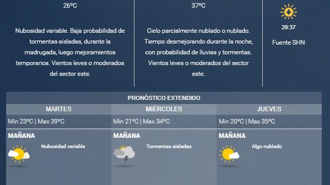 Se espera un martes de intenso calor sobre Santiago