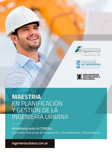 Maestría en Planificación y Gestión de la Ingeniería Urbana