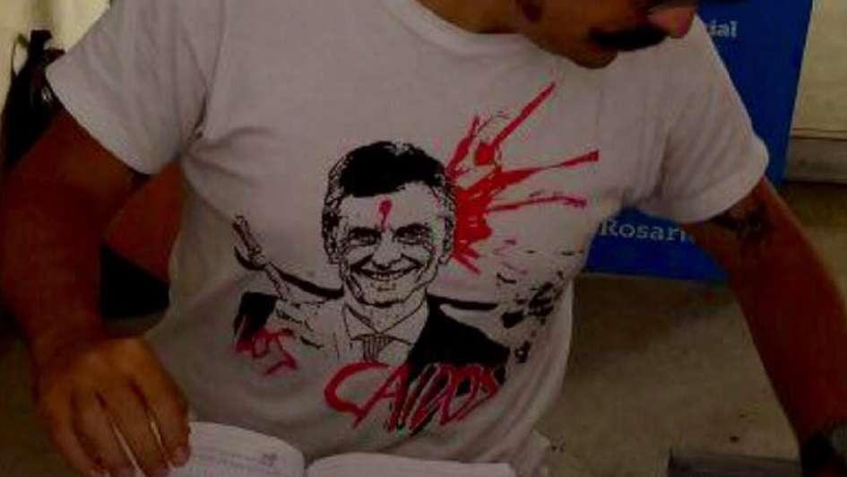 Cambiemos denunció penalmente al joven que utilizó la remera de Macri baleado