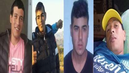 Los cuatro internos que escaparon de su celda en La Rioja.