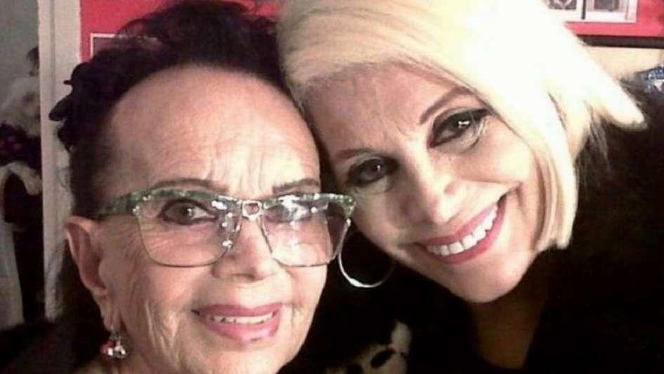 Falleció la madre de Carmen Barbieri a los 90 años