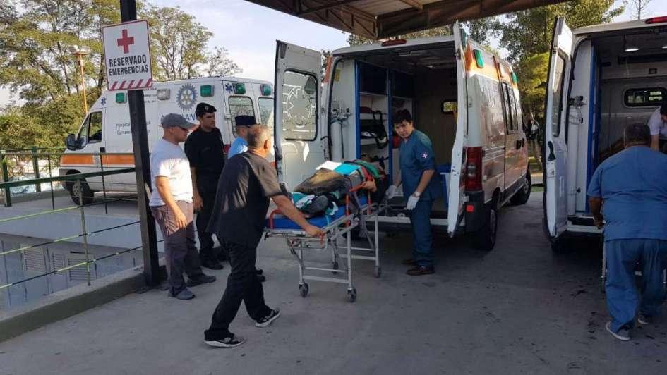 Murió el hombre al que le amputaron el brazo tras el vuelco del micro mendocino en Córdoba