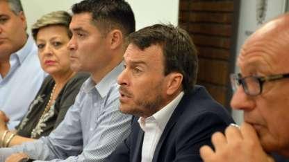 El ministro Nieri fue a Diputados a explicar los alcances del Consenso Fiscal.