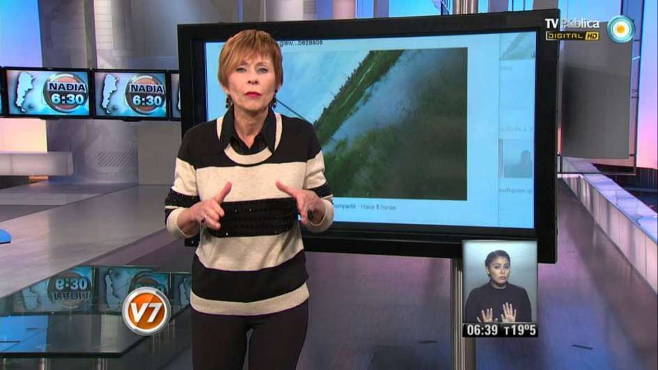 """Echaron a la meteoróloga de la TV Pública por ser """"grande"""""""