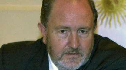 Carlos Verna, el polémico gobernador pampeano.