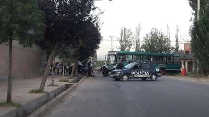 Accidente en calle Avellaneda