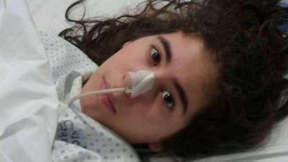 Paula Díaz sufre de una rara enfermedad no diagnosticada.