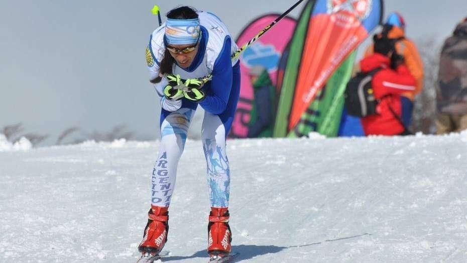 Cecilia Domínguez, primera fondista argentina en esquí en los Juegos Olímpicos de invierno