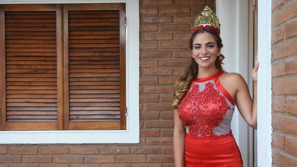 Melina Pérez, futura abogada con compromiso social