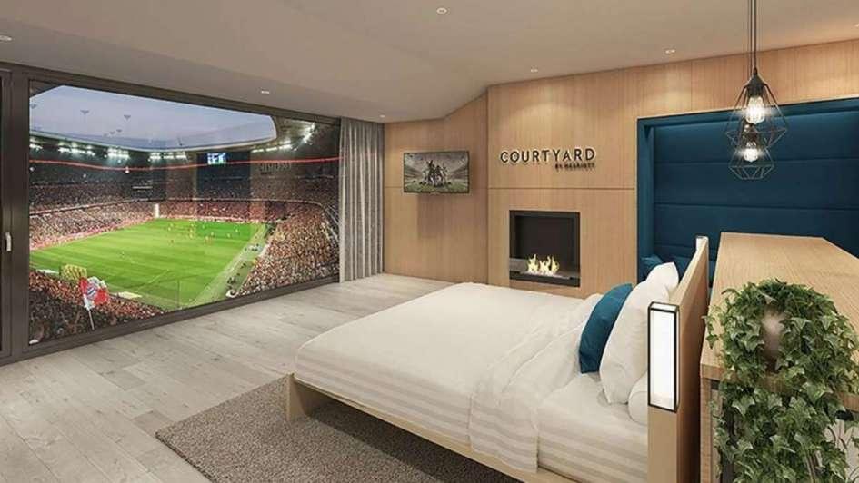 El Bayern Múnich tendrá suites de lujo dentro de su estadio