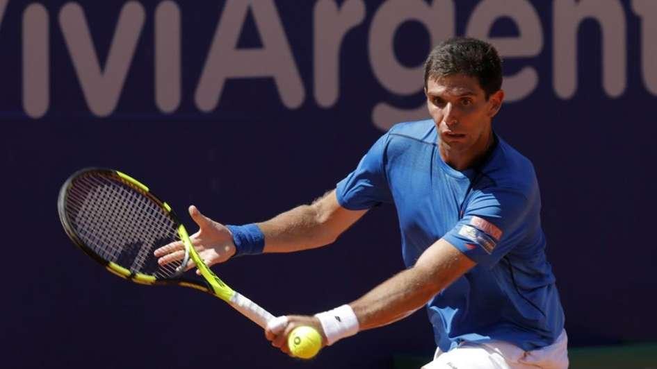 Arrancó el Argentina Open con el triunfo de Delbonis