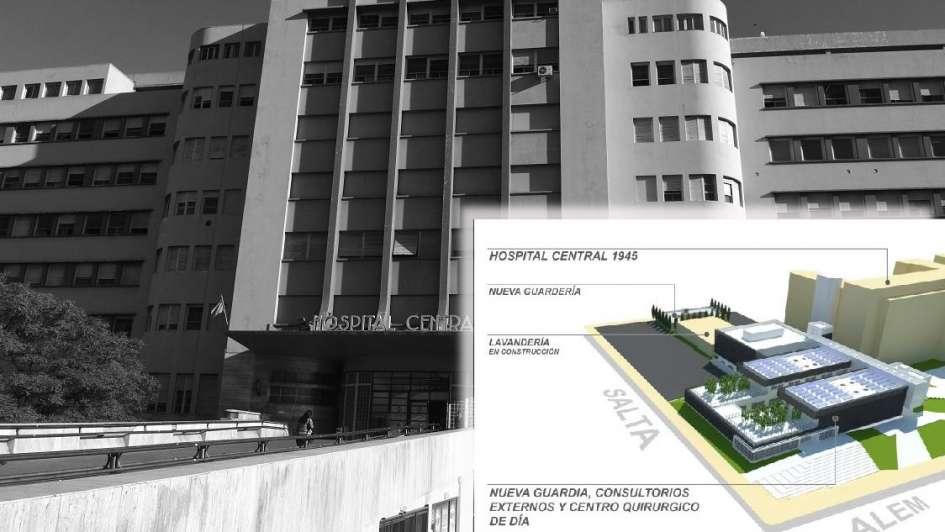 Ampliarán los consultorios externos y la guardia del hospital Central: cómo será la obra