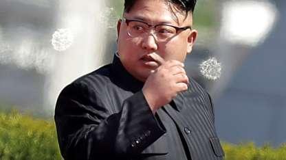 El polémico Kim volvió a descomprimir la tensión entre ambas naciones. / AFP