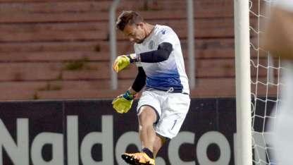 Burián fue de menor  a mayor desde que  debutó en el arco tombino y solamente recibió  dos goles en los últimos cinco partidos.