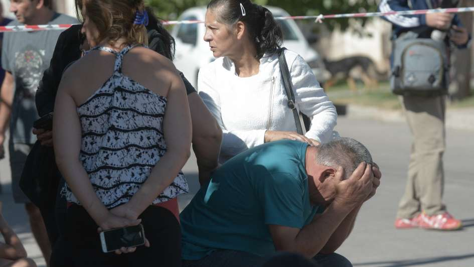 Fotogalería: Mendoza conmocionada por un nuevo triple crimen