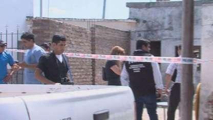La escena del crimen se llenó de investigadores