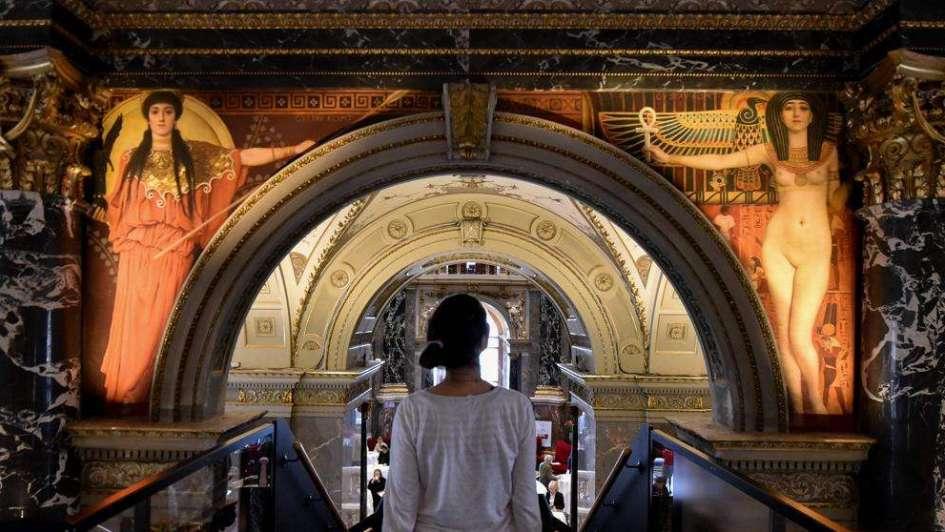 Recuperan un cuadro de Gustav Klimt perdido hace medio siglo en un museo