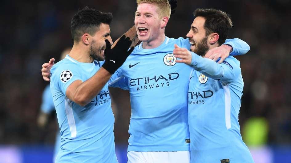 El Manchester City dejó liquidada la serie ante el Basilea