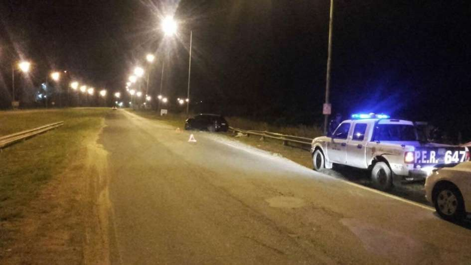 Se accidentó Ivana Nadal cuando viajaba en su auto al carnaval de Gualeguaych