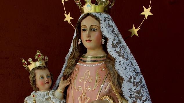 Restauraron la histórica primera copia de la Virgen de la Carrodilla