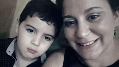 El pequeño Lautaro y su mamá, Mayra, fueron asesinados.