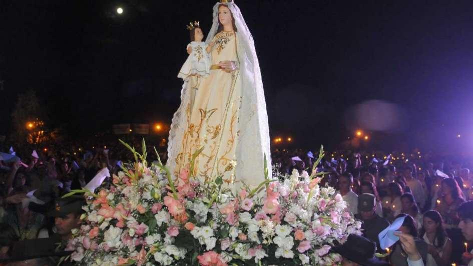 Una Virgen gigante: tendrá 6 metros la imagen creada para el Acto Central