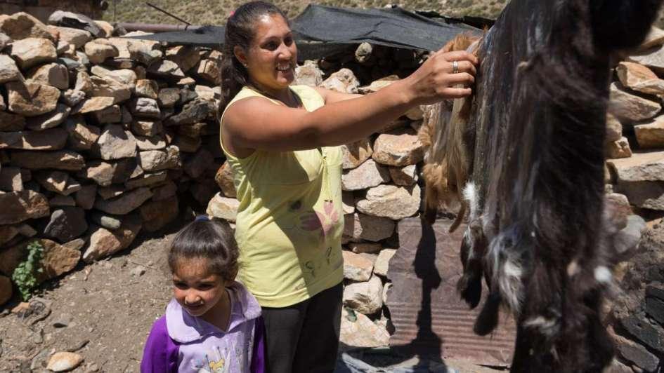 Los Salinas: la última familia de puesteros en Laguna del Diamante