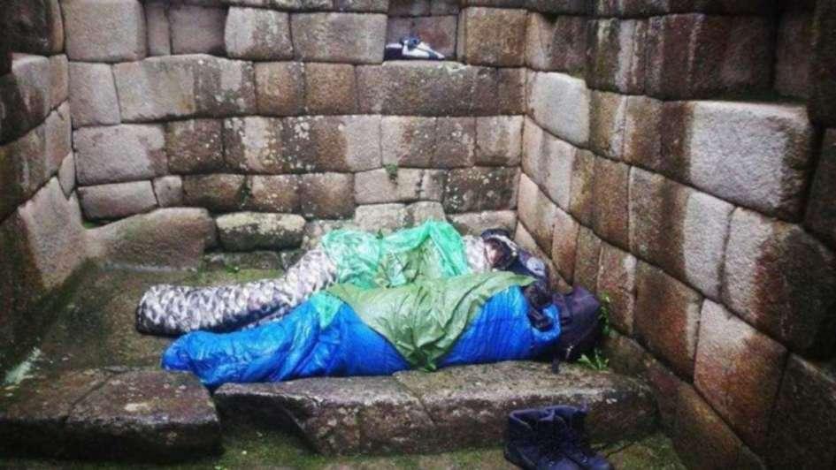 Machu Picchu: expulsaron a dos turistas argentinos que se durmieron en la ciudadela inca